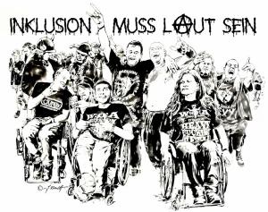 Inclusion muß laut sein